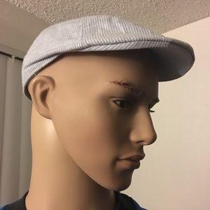Perry Ellis Summer Men's Ascot Hat Linen & Cotton